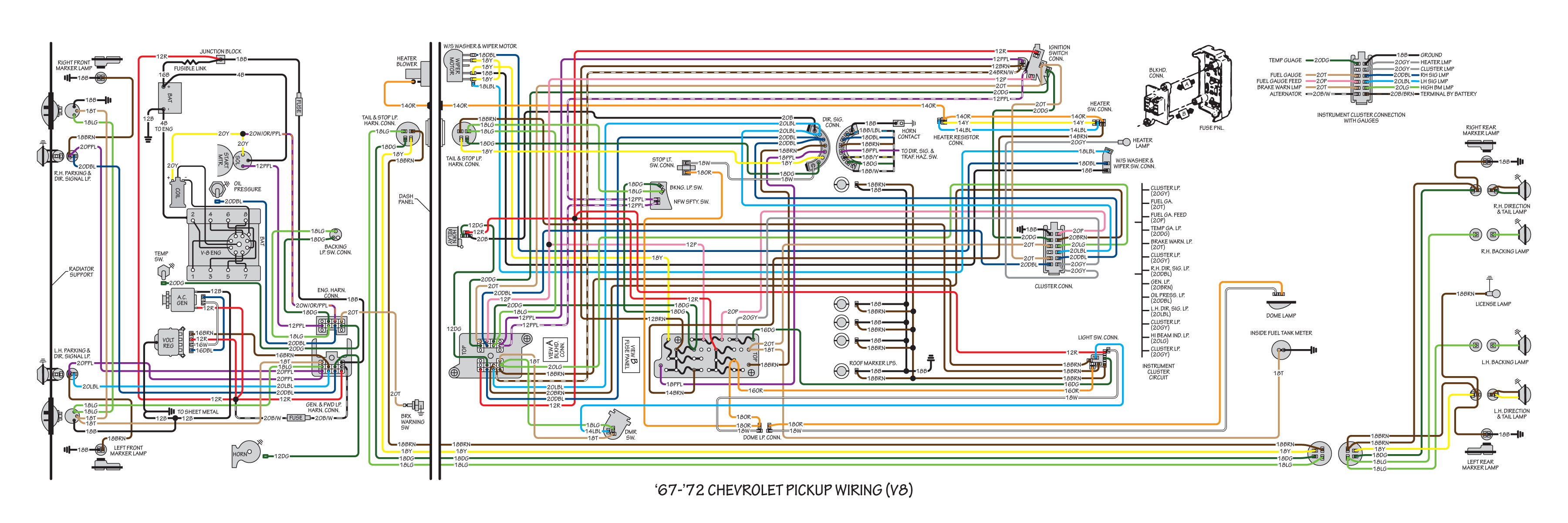 Color Wiring Diagram Finished - Page 13 - The 1947
