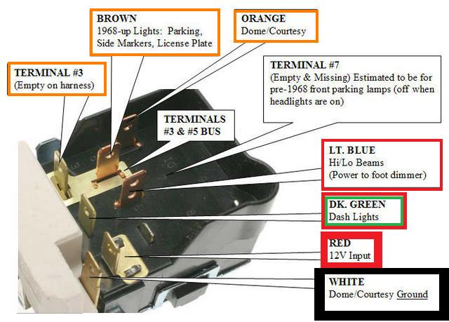 Headlight Switch 1 index of wiring 1984 chevy truck headlight wiring diagram at n-0.co